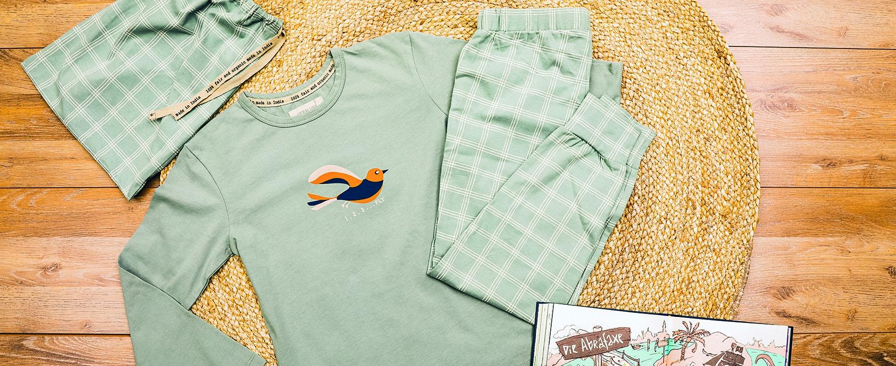 Faire Pyjamas - Foto: GEPA The Fair Trade Company / Caroline Schreer