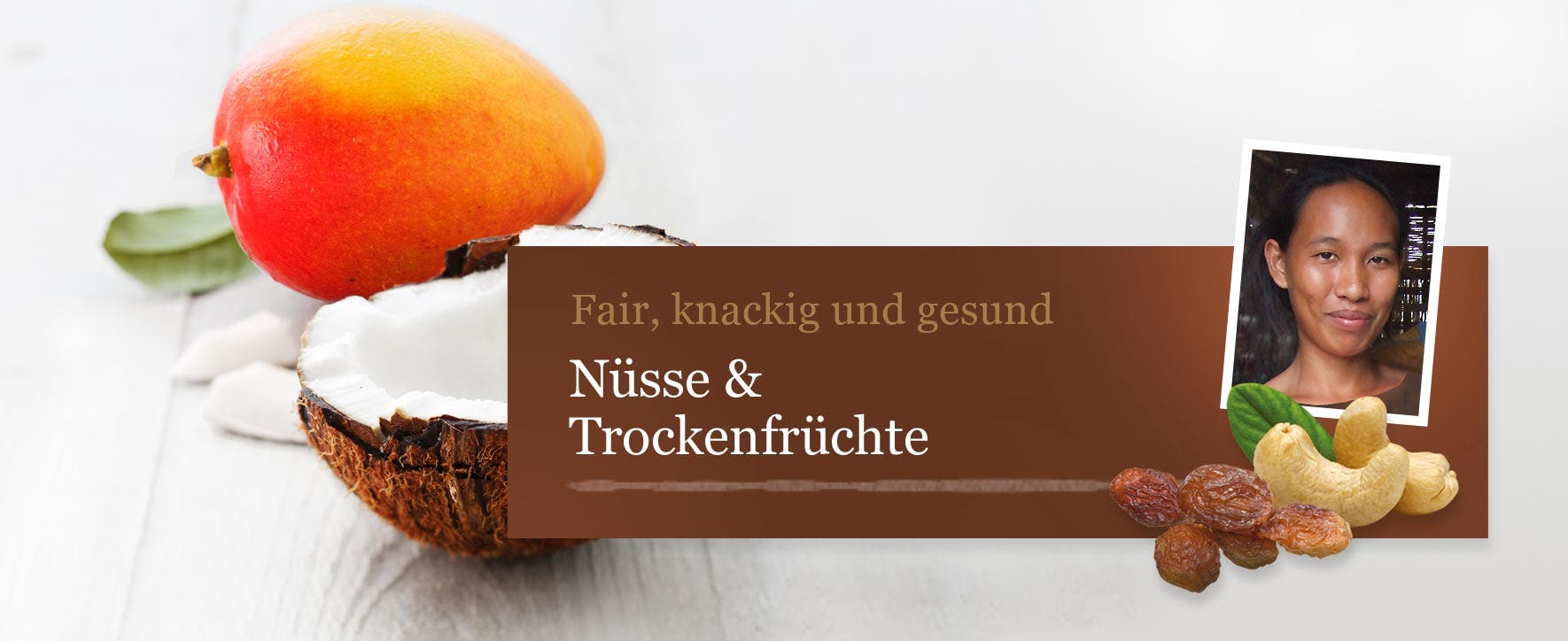 Nüsse & Trockenfrüchte - Foto: GEPA - The Fair Trade Company / Sandra Eckhardt Fotografie