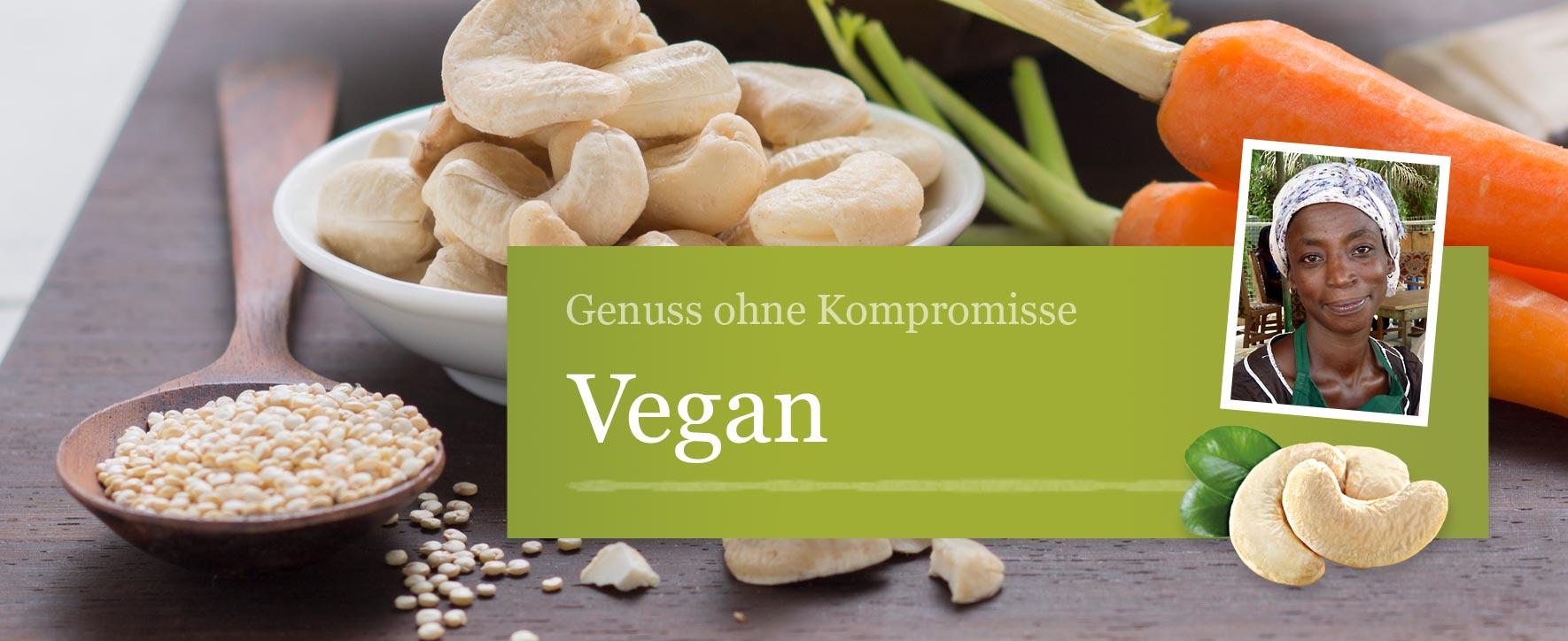 Vegane Produkte – Foto: GEPA - The Fair Trade Company / Sandra Eckhardt Fotografie