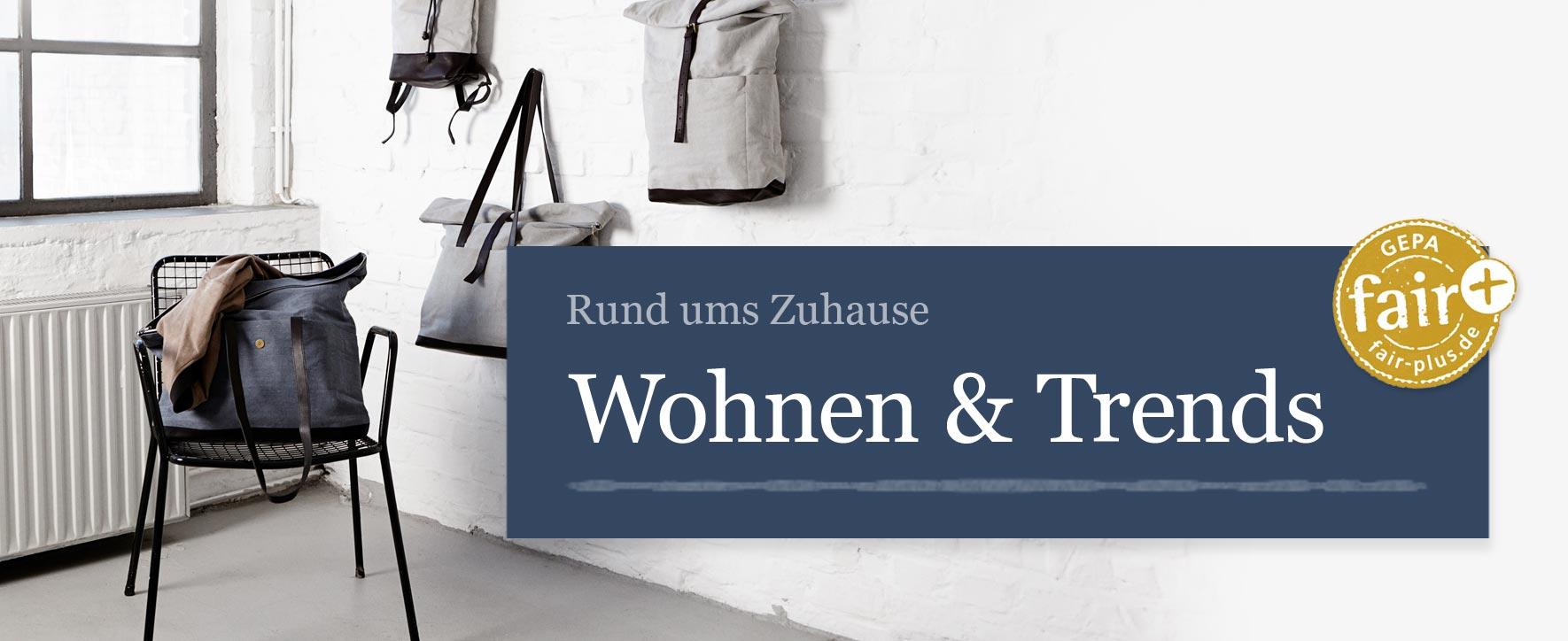 Wohnen & Trends - Foto: GEPA - The Fair Trade Company / Julia von der Heide
