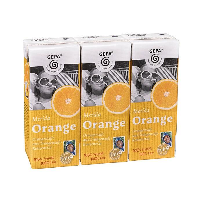 Merida Orangensaft 3 x 0,2l