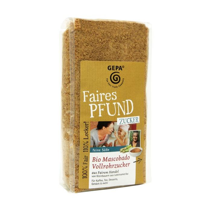 Faires Pfund Bio Zucker