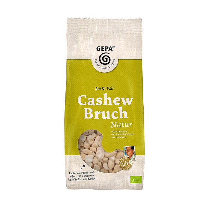 Bio Cashew Bruch, natur