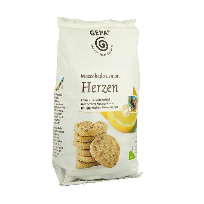 Bio Mascobado Lemon Herzen