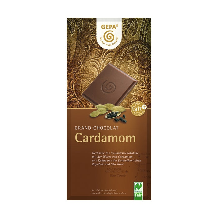 Bio Schokolade Cardamom