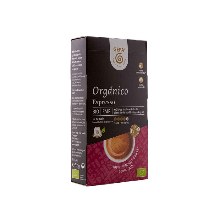 Bio Orgánico Espresso Kapsel