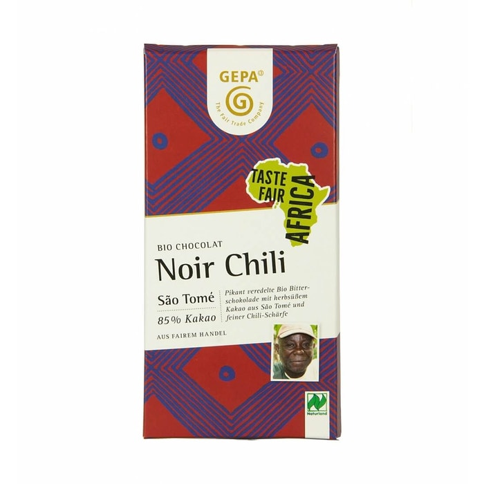Bio Chocolat Noir Chili