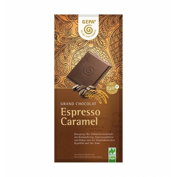 Bio Schokolade Espresso Caramel