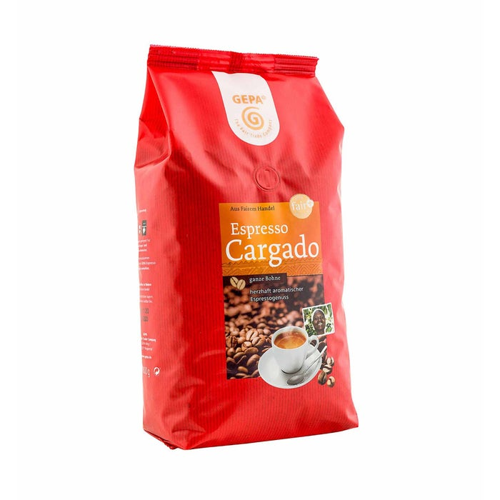 Fair Trade Espresso Cargado, Bohne (1000 g)