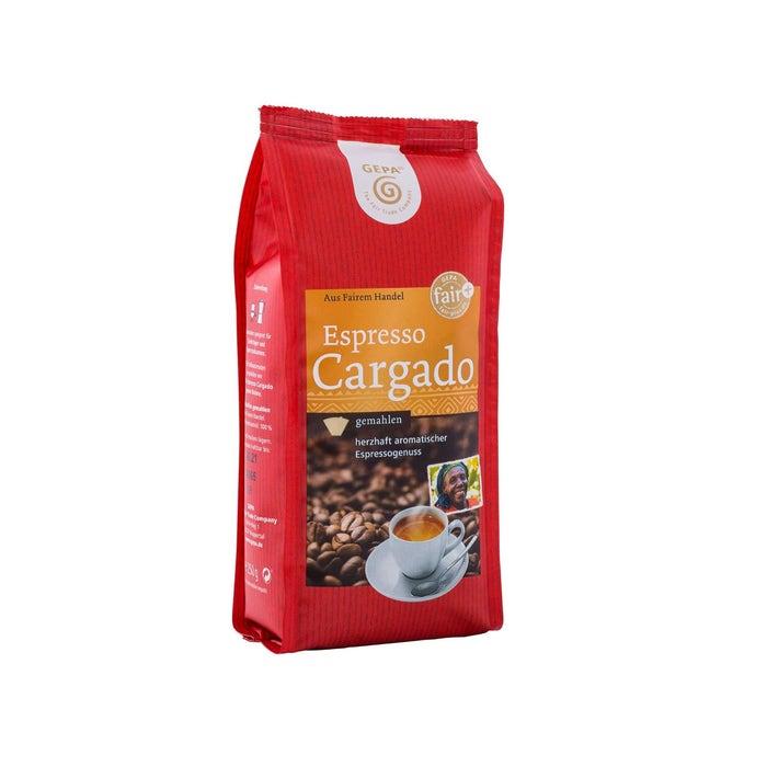 Fair Trade Espresso Cargado, gemahlen
