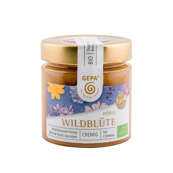 Bio Honig Wildblüte 250g cremig