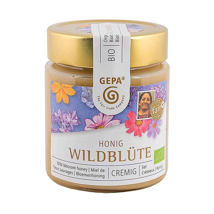 Bio Honig Wildblüte 500g cremig