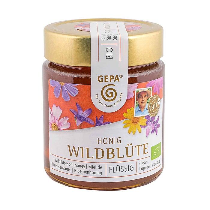 Bio Honig Wildblüte 500g flüssig