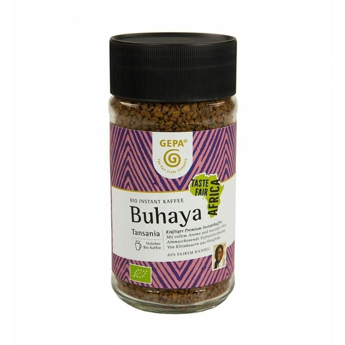 Bio Instant Kaffee Buhaya