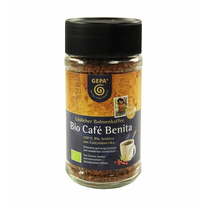 Bio Instant Kaffee Café Benita