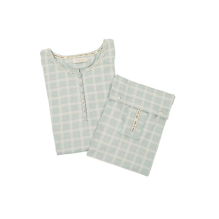 Nachthemd für Damen grau kariert, Größe 38
