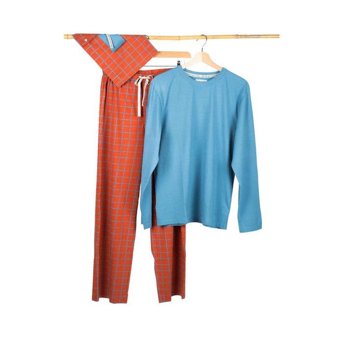 Pyjama für Herren, Carlo graublau, Gr. XL