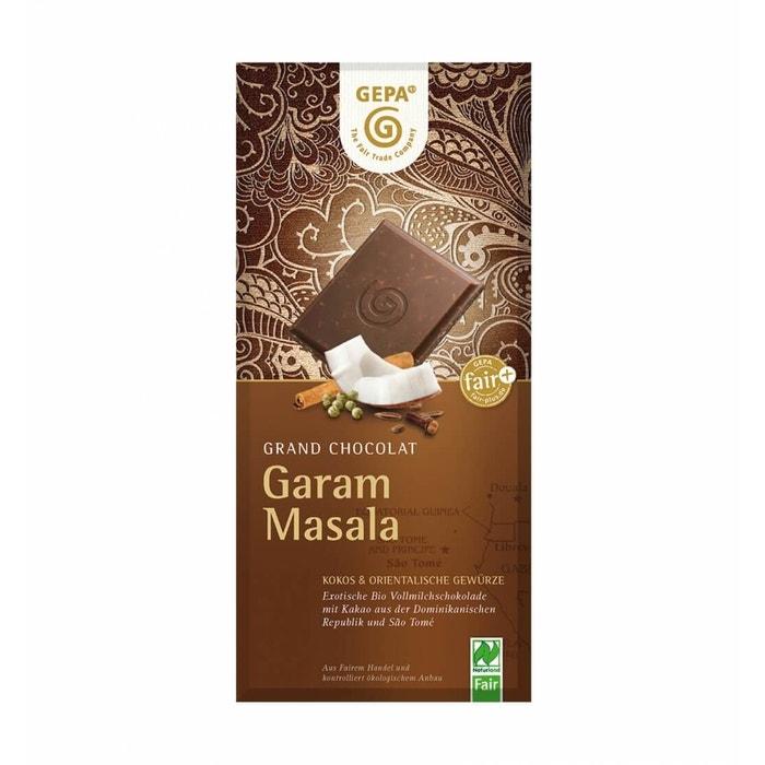 Bio Schokolade Garam Masala