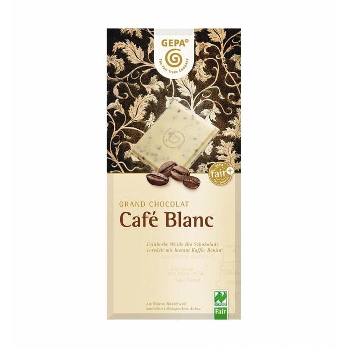 Bio Schokolade Café Blanc