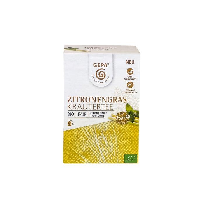 Bio Zitronengras Kräutertee 20 x 1,7g
