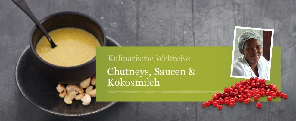 Chutneys, Saucen & Kokosmilch
