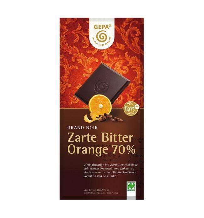 Dunkle Bio-Schokoladen mit Kakaoanteil bis zu 95%