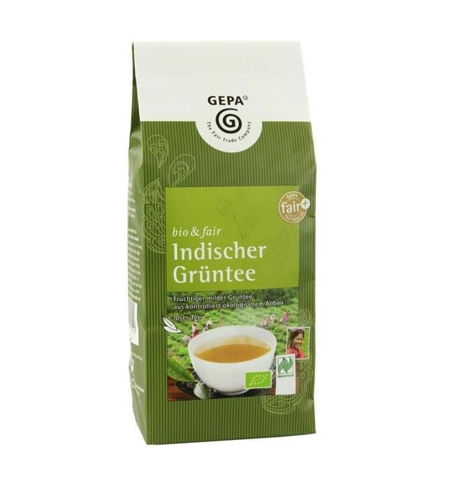 Grüne Bio-Tees für Genießer