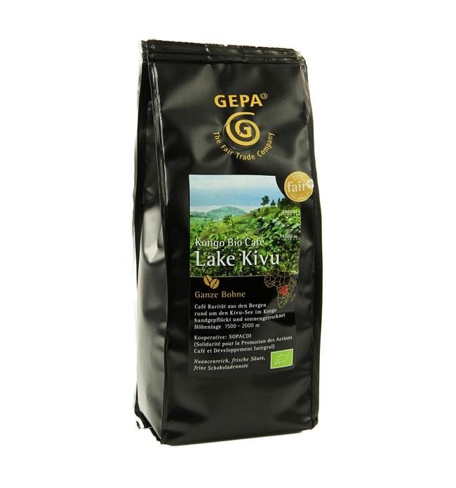 Fair gehandelter Kaffee Lake Kivu