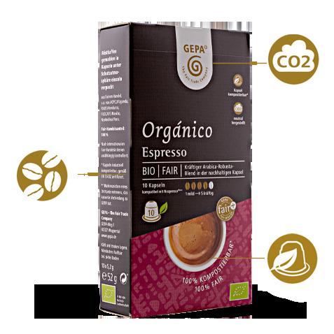 Faire Kaffeekapseln Espresso